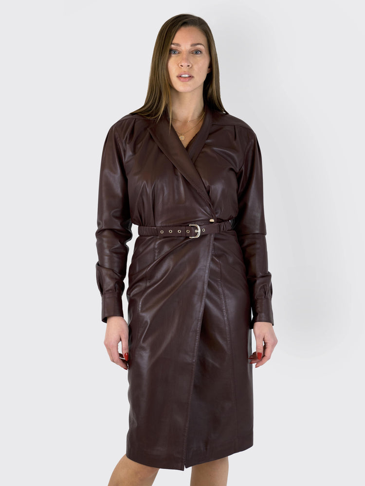 Dodo Bar Or - Leather Dress