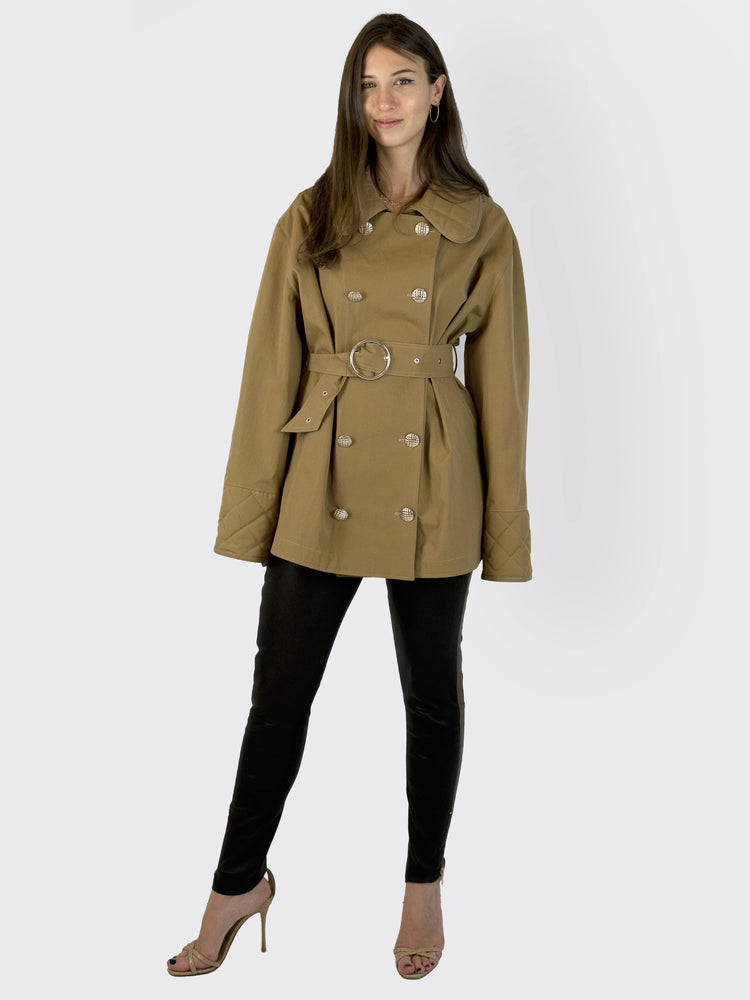 Victoria / Tomas - Short Trench Coat