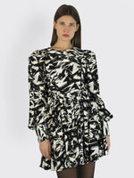 Rotate Birger Christensen – Graphic Print Mini Dress