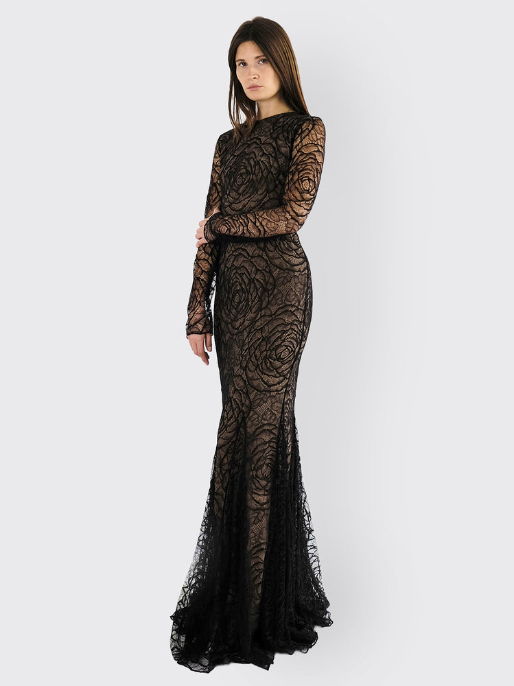 Vera Wang - Lace Dress