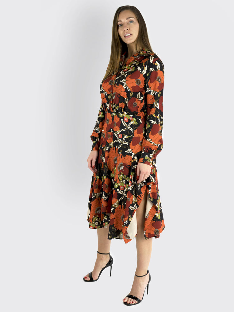 DoDo Bar Or -  Flower Print Dress