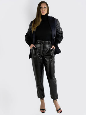 Load image into Gallery viewer, Alexander Wang – Elegant Bomber Jacket