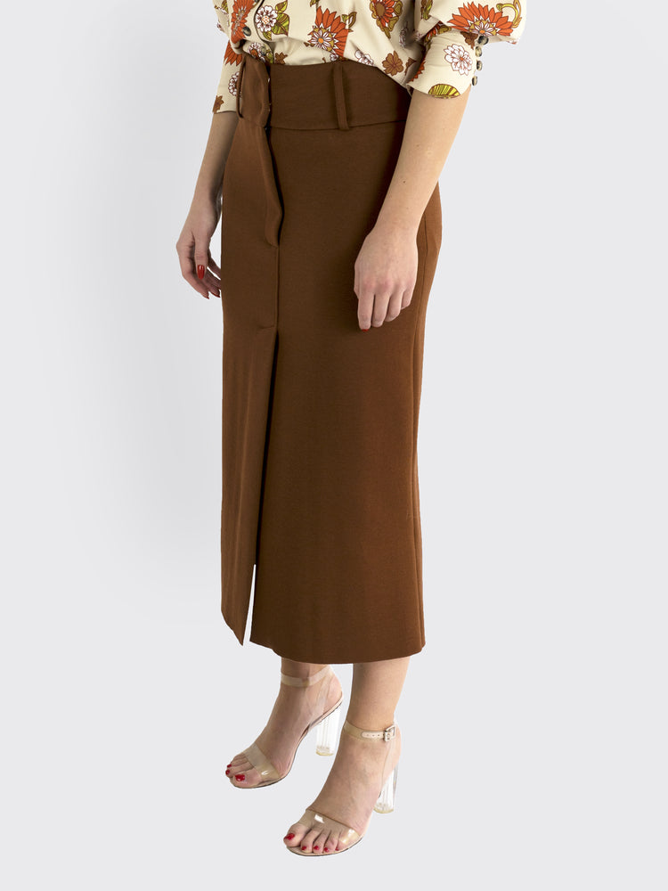 Circus Hotel – Slit High-Waisted Skirt