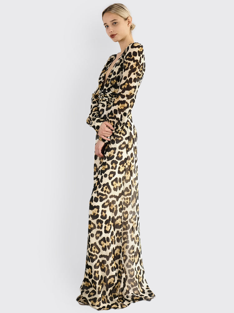 L'Edition - Leopard Dress