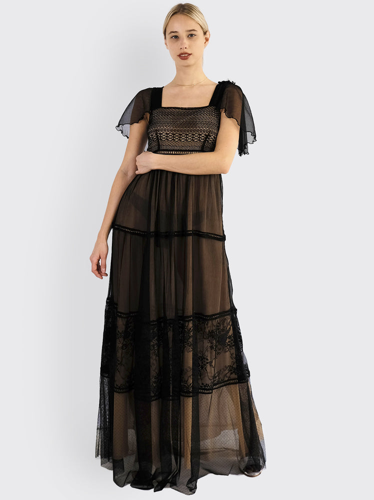 L'Edition - Black Lace Dress