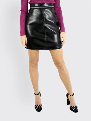 Load image into Gallery viewer, Philosophy Di Lorenzo Serafini - Lacquer Mini Skirt