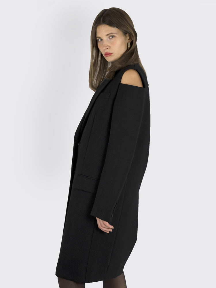 Vera Wang - Cut Out Coat