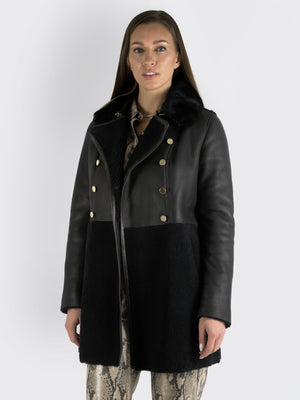 Load image into Gallery viewer, Natasha Et Vanessa - Trench-style Coat
