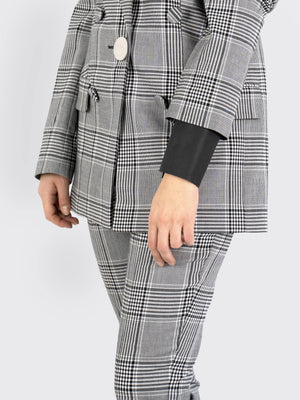 Alexander Wang - Single-Breasted Check Blazer