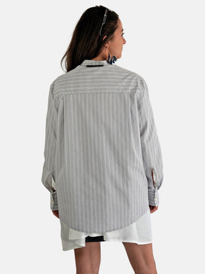 Victoria/ Tomas – Striped Oversize Blouse