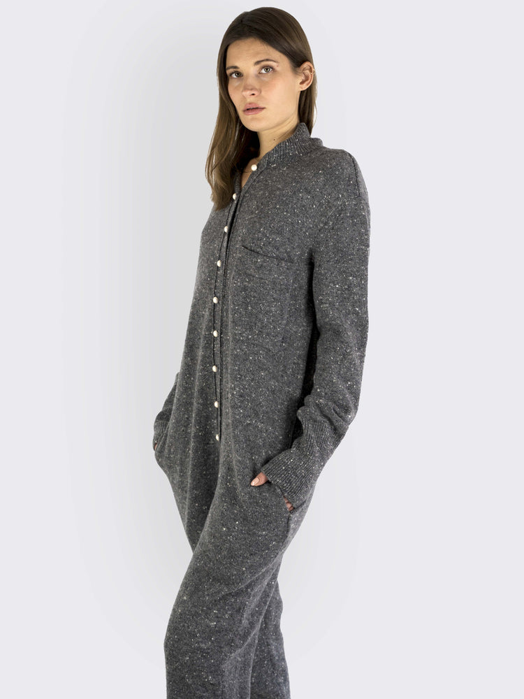 Philosophy Di Lorenzo Serafini - Grey Jumpsuit - Ladies Tops | Rebecca Store