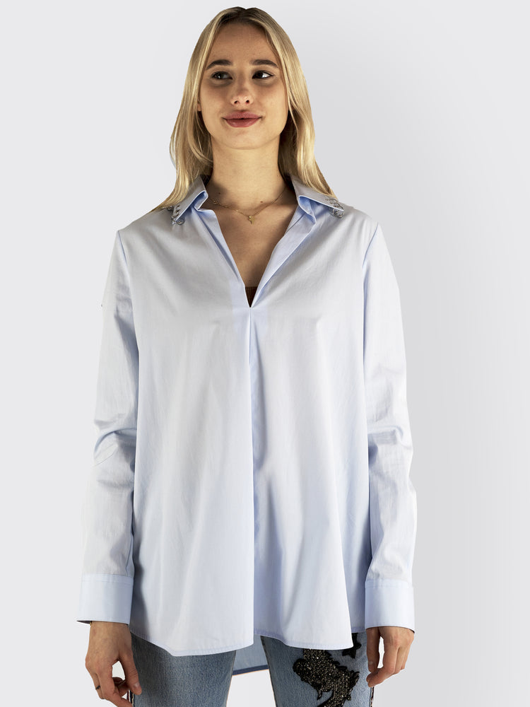 Alexander Wang - Piercing Detail Blouse