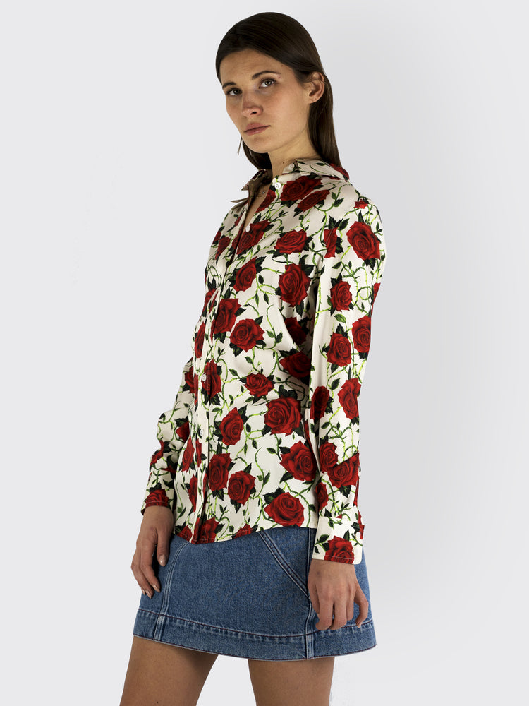 Alexander Wang - Rose Print Blouse