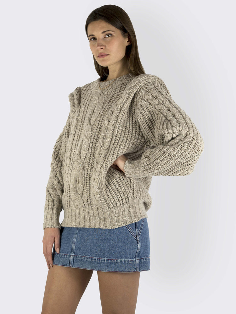 Circus Hotel – Ribbed Chunky Knit Sweater