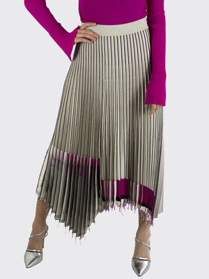 MRZ – Knitted Pleated Skirt