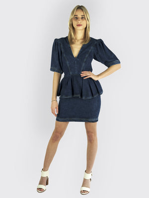 Load image into Gallery viewer, Rotate Birger Christensen – Mindy Blue Dress