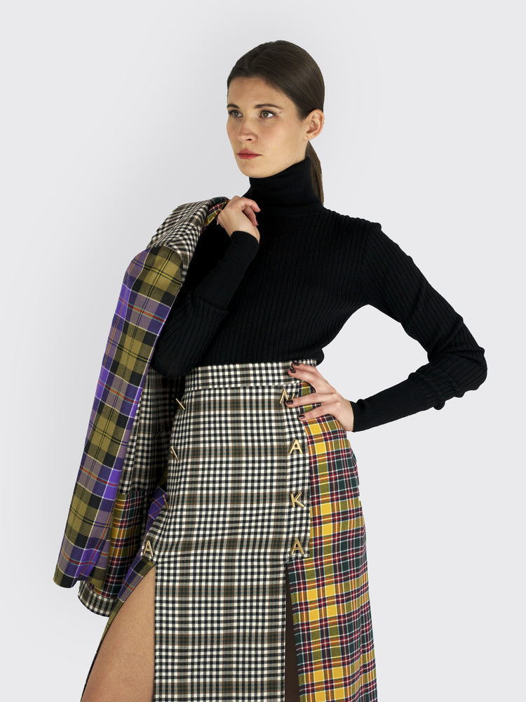 Tata Naka - Plaid Skirt