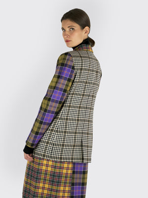 Laden Sie das Bild in den Galerie-Viewer, Tata Naka - Plaid Skirt