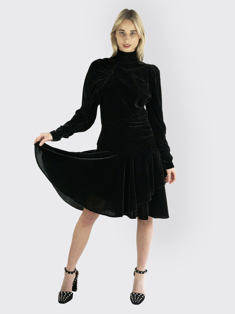 Rotate Birger Christensen - Velvet Dress Number 25