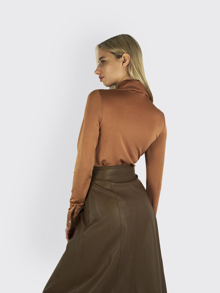 Vince – Leather Skirt