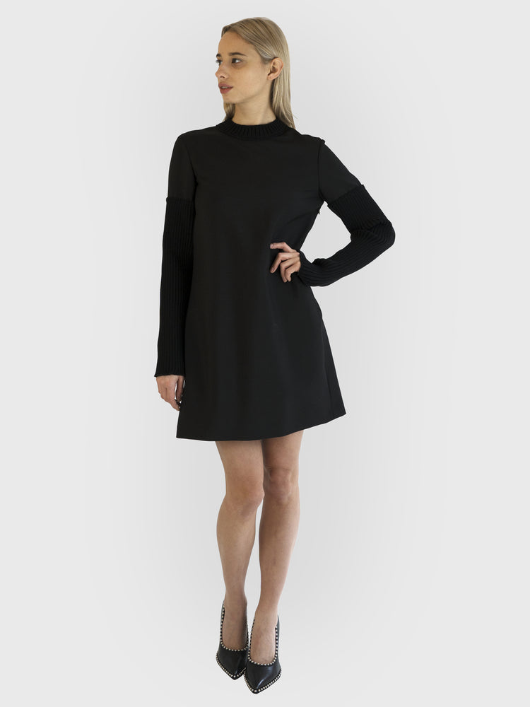 Alexander Wang - Knitted Sleeve Dress