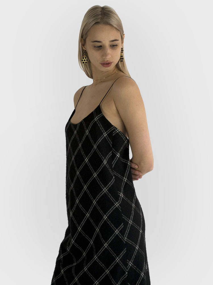 Tibi - Plaid Dress