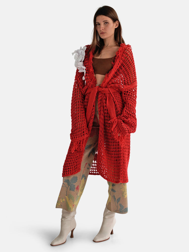 Circus Hotel – Hand-knitted Cardigan