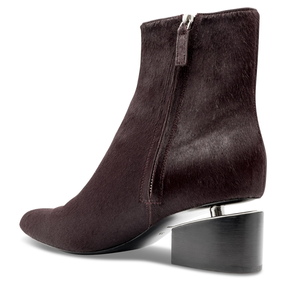 Alexander Wang - Jude Haircalf Ankle Boot in Bordeaux