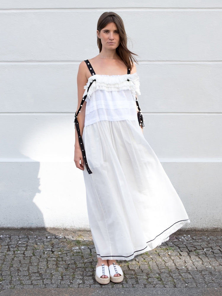 Philosophy Di Lorenzo Serafini White Maxi Dress