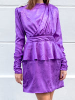 DoDo Bar Or - Purple Grace Dress