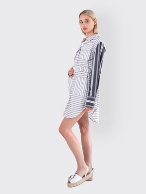 Load image into Gallery viewer, Victoria / Tomas - Striped Dress