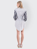 Victoria / Tomas - Striped Dress