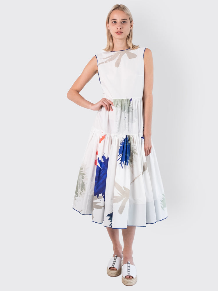 Rohka - Hand-Printed Midi Dress