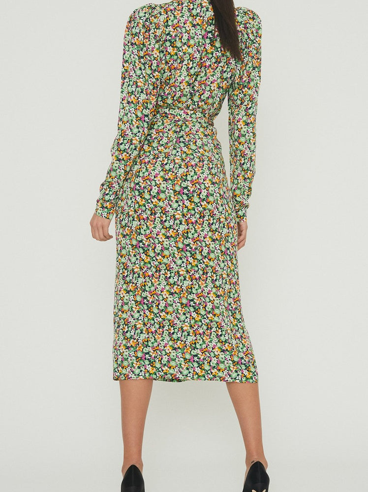 Rotate Birger Christensen Sierra Plisse Dress