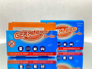 Germless To-Go Single Use Packets (12)