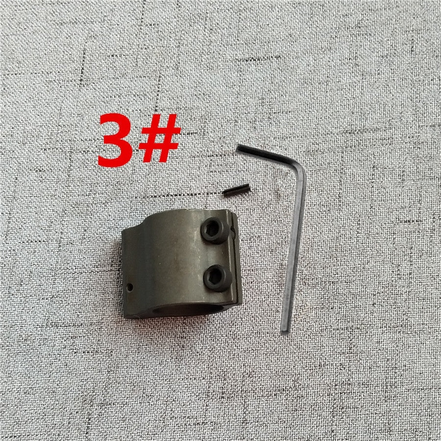 7 types Tactical AR15 M4  6.75'/9.75'/11.75'/15.12' Gas Tube Steel Low Profile Micro Block 0.75 Inch steel Gas Block with pin for hunting accessories