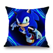 Load image into Gallery viewer, Home Decor  Sonic The Hedgehog Series Pillowcase Sonic Pillow Game Figures Cushion Cover Sofa Cushion Cover Home Textile