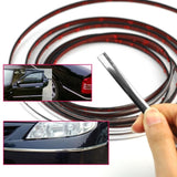 6mm/12mm/15mm/18mm/22mm Car Chrome Styling Decoration Moulding Trim Strip Silver Bright