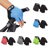 Motorcycle Motocross Bike Half Mitts Gloves  Summer Cycling Racing Breatherable
