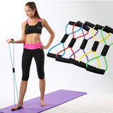 Home gym crossfit equipment LOOP latex resistance band fitness equipment stretch yoga training elastic band pilates