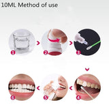1 Bottle 10 Magic Natural Teeth Whitening Mouth Cleaning Oral Teeth Care Whitening Dental Bleaching Tools