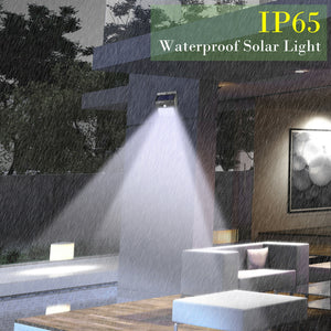 Waterproof 20 LED Solar Lights Motion Sensor Wall Light Outdoor Garden Yard Lamp