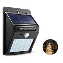 Load image into Gallery viewer, Waterproof 20 LED Solar Lights Motion Sensor Wall Light Outdoor Garden Yard Lamp