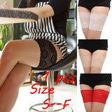 New Women Fashion Lace Floral Elastic Anti-Chafing Thigh Bands Leg Warmers Cuffs