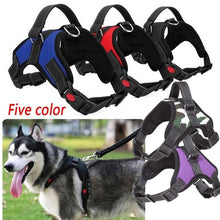 Load image into Gallery viewer, Upgrade Pet Dog Adjustable Traction Vest Soft Chest Strap Large Dog Anti-riot Leash Harness for Walking Dogs