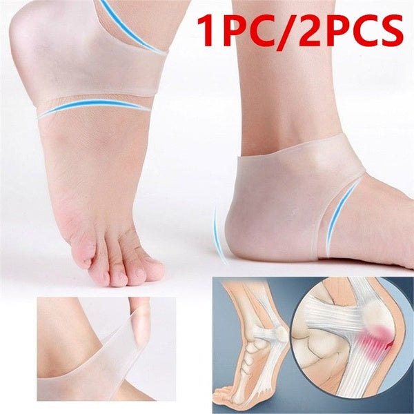 New Silicone Moisturizing Gel Heel Socks Cracked Foot Skin Care Protector