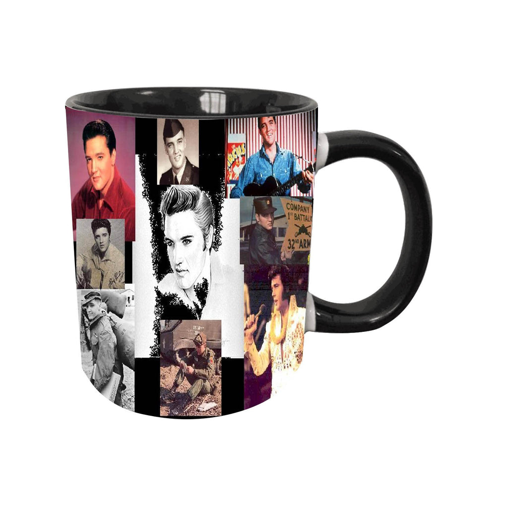 Customized Elvis Presley Coffee Mug Best Gift Cup Multi-style Optional,11 Oz