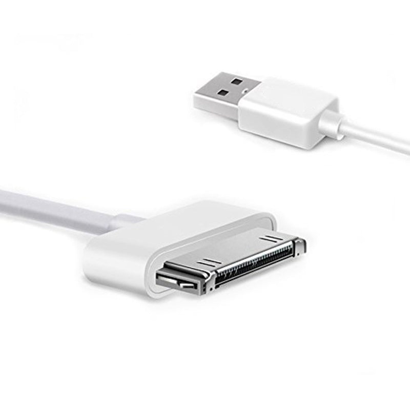 2Pc 30-pin USB charger cable for iPhone 4 4s iPod nano ipad 2 3 iPhone4s iphone4 30pin data usb charging cavo chargeur cable