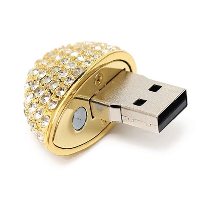 USB Flash Drive 64GB 32GB 16GB 8GB 1GB  Crystal Heart USB 2.0 Memory Stick