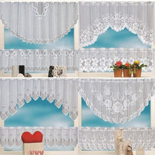 Load image into Gallery viewer, 2PCS Window Tier Curtain Kitchen Dining Room Home Decor Set